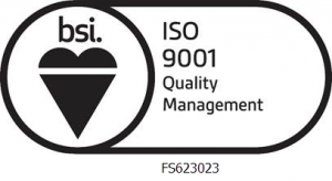 bsi iso 9001 badge