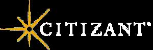 Citizant White Logo