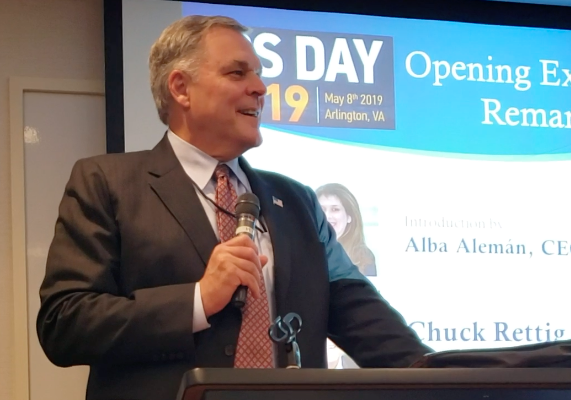 IRS Commissioner Chuck Rettig at IRS Day 2019