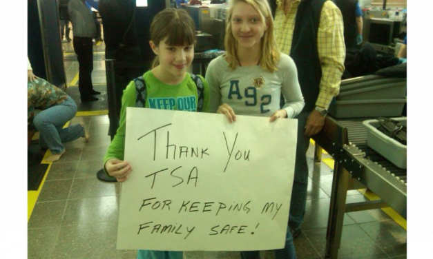 Thank you TSA! We Appreciate You!
